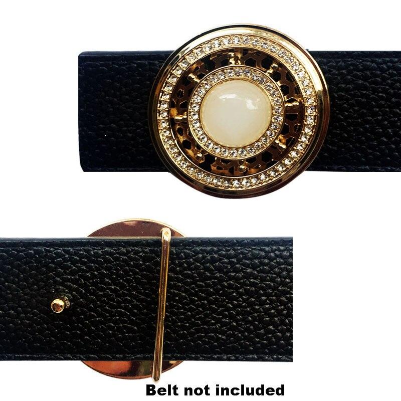 Geometric Trending Men's Belt Buckles   Metal  Accessories Suitable For 4 Cm Width Solid Brass Belt Buckle  Championship Belt