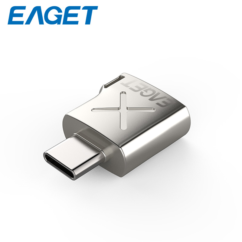 EAGET EZ03 Type-C Adapter Micro USB3.0 Converter Adapter Type C USB Data Support Equipment With Type-C Interface