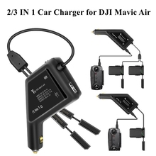 Car Charger Vehicle Outdoor Fast Multi Charging Battery Remote Control Power Charger Hub USB Ports For DJI Mavic Air Accessories