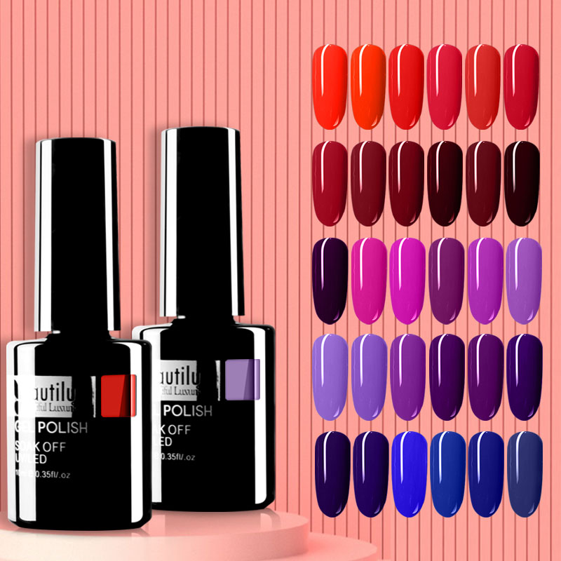 Beautilux Gel Nail Polish 120 Colors Professional Salon Nails Art Gels Varnish UV LED Semi Permanent Nail Lacquer Manicure 10ml|Nail Gel|   - AliExpress