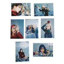 7PCS Set High Quality KPOP GFRIEND New Album HD LOMO Card Photocard Postcards For Fans