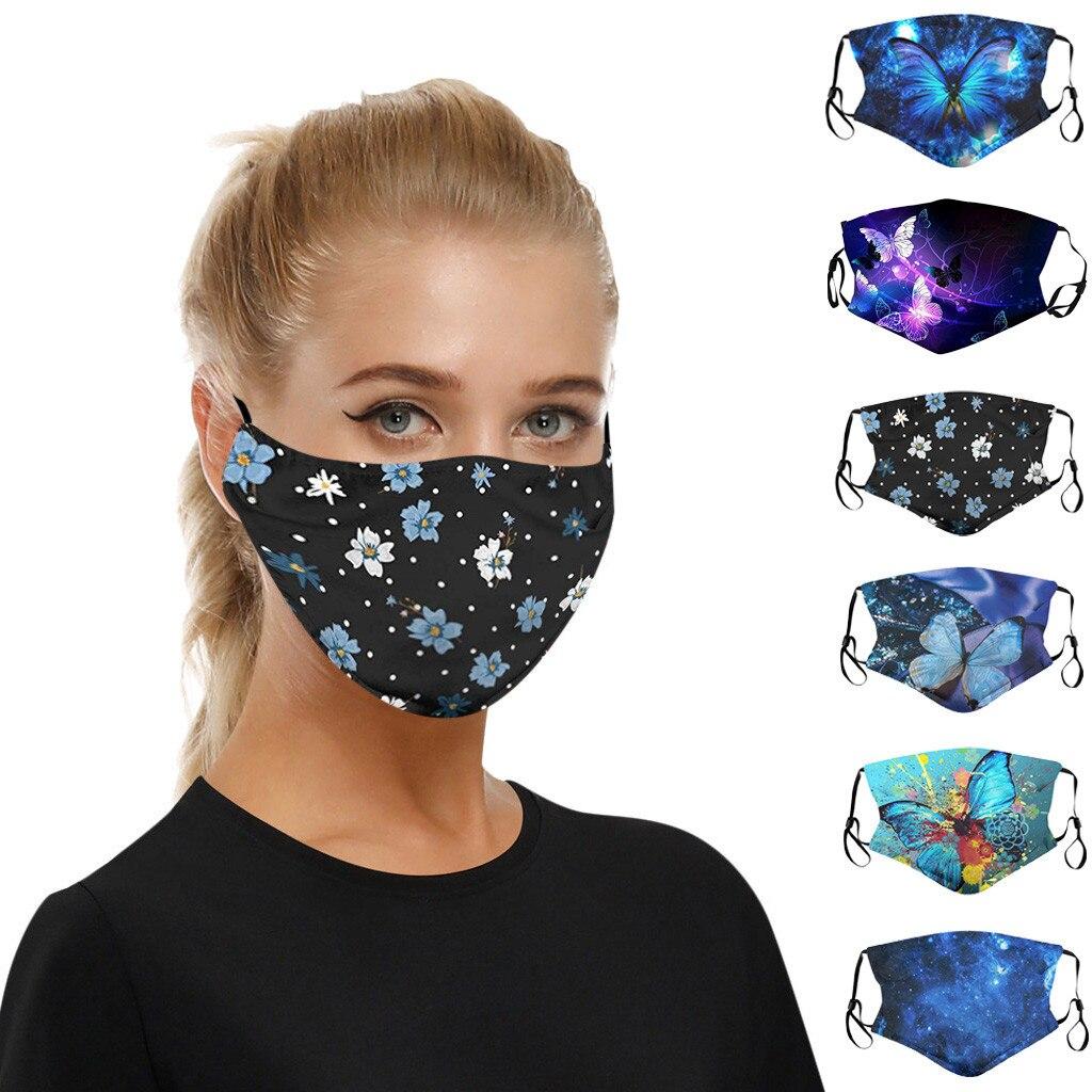 Nueva Máscara protectora de niebla a prueba de polvo a prueba de viento, máscara para la cara wasbare mondkapjes maseczka do twarzy, mancuernillas para el rostro lavables