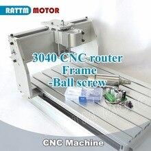 2020 מכירה מחרטת עץ Cnc נתב מכונת חדש 3040 CNC נתב כרסום מכונת מכאני ערכת כדור בורג עם 300w עבור Dc ציר
