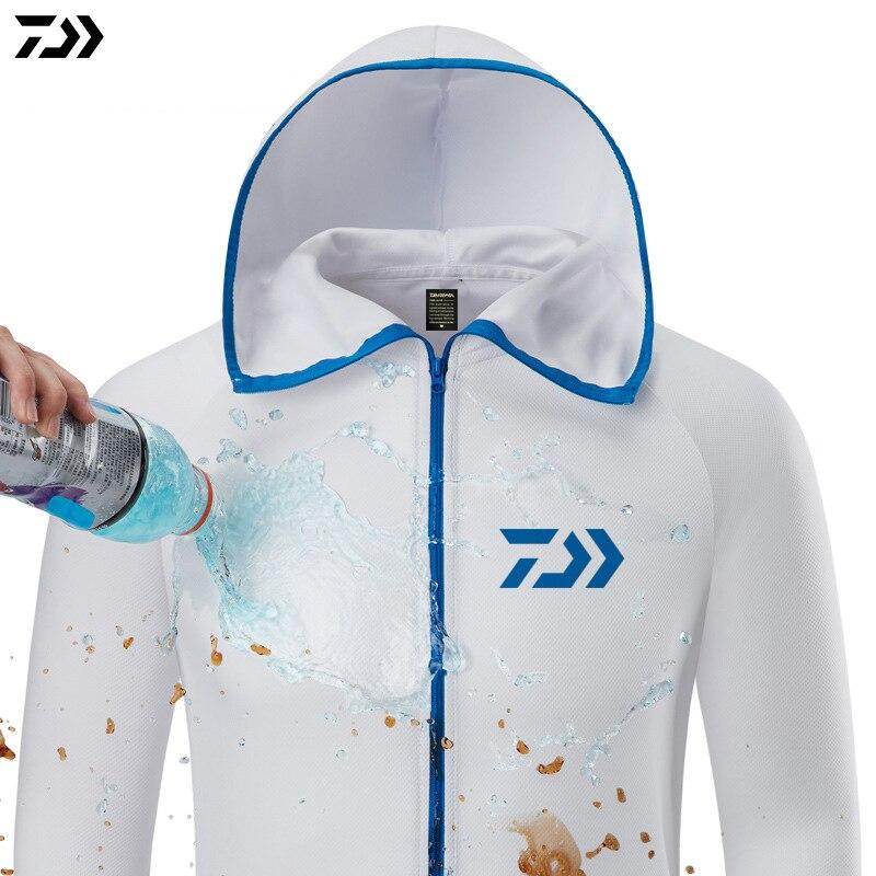 Fishing Shirt Breathable Fishing Clothing Men Waterproof Fishing Shirts Long Sleeve Fishing Jacket Quick Drying Fishing Clothes 2