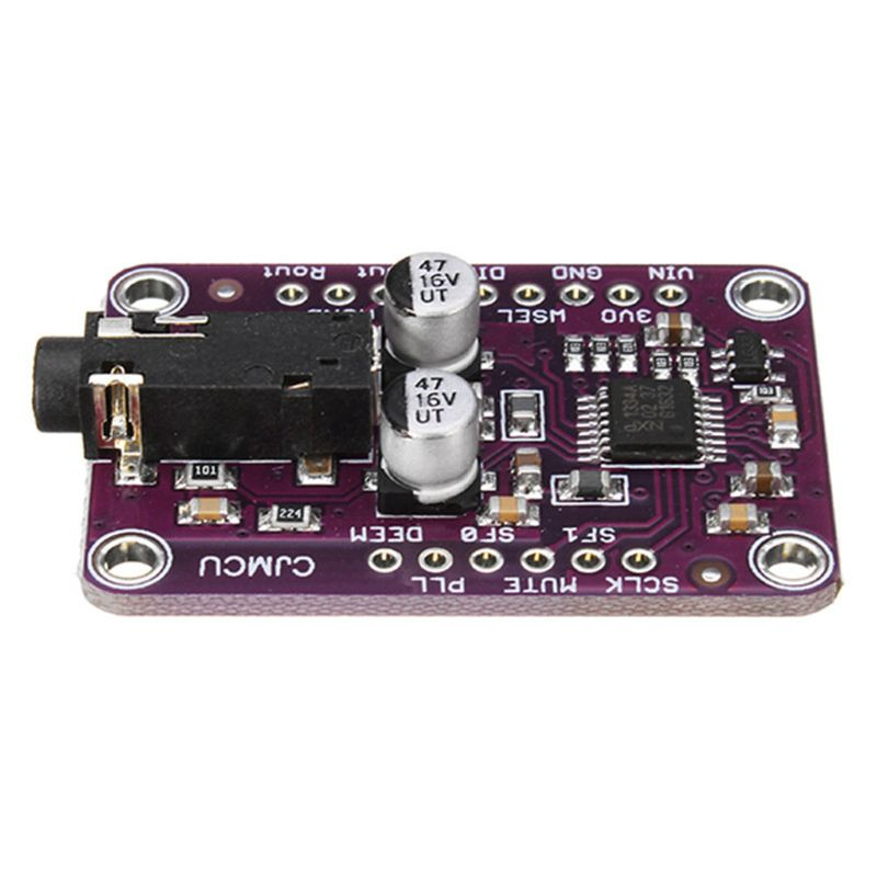 CJMCU-1334 DAC Module UDA1334A Stereo Decoder Board I2S Output Interface Decoding Module for 3.3V to 5V
