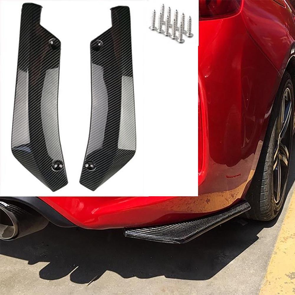 Car Rear Bumper Lip Spoiler Diffuser Splitter Scratch FOR Volkswagen VW polo passat b5 b6 CC golf jetta mk6 tiguan Gol(China)
