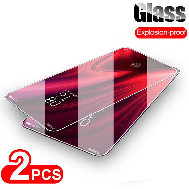 2PCS Film HD Protective Film Screen Protector For Redmi Note 8 Pro 9H Tempered Glass For Xiaomi Redmi Note 8T 7 6 5 Pro 5A 4 4X