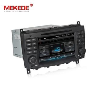 Image 5 - Android 9 เครื่องเล่นดีวีดีนำทาง GPS สำหรับ Mercedes Benz CLK W209/CLS/W219 autostereo headunit วิทยุเทป recorder 8812 Media