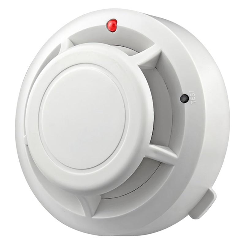 Independent Alarm Smoke Fire Sensitive Detector Home Security Wireless Alarm Smoke Detector