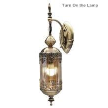 Настенные светильники для коридора из Юго Восточной Азии железная