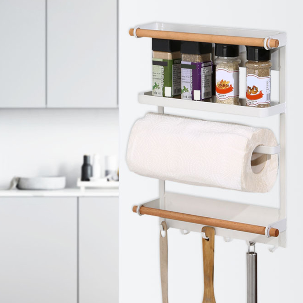 Rack Refrigerator Side Shelf Holder Rustproof Towel Spice ...