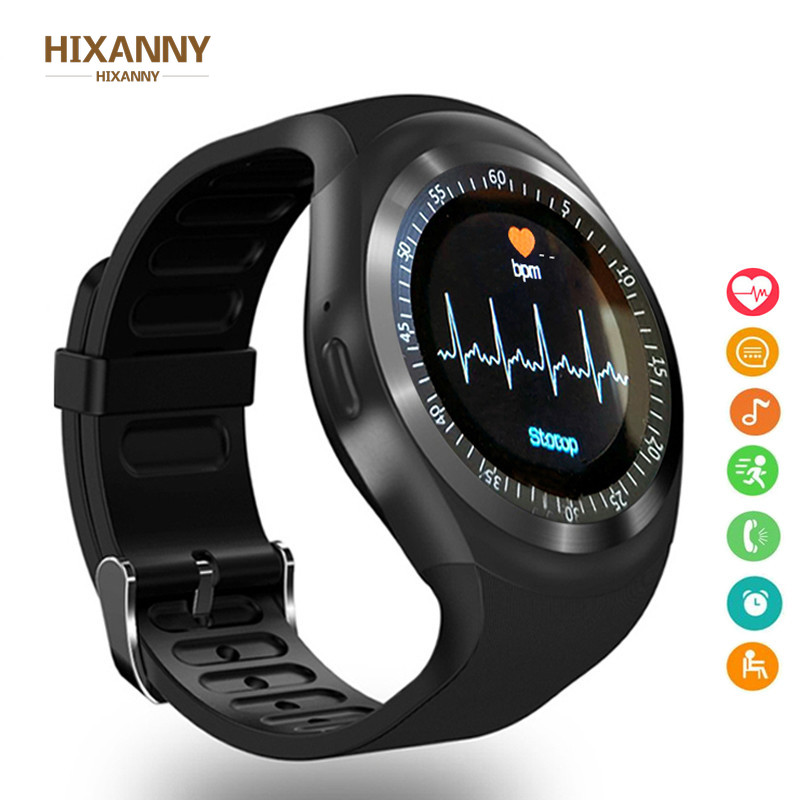 Bluetooth Smart Watch Men Women Relogio SmartWatch Android Phone Call GSM Sim Remote Camera Information Sports Pedometer