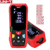 UNI-T LM40 Laser télémètre portable Mini Laser télémètre ruban télémètre mesure 40m 50m 80m 100m 120m 150m