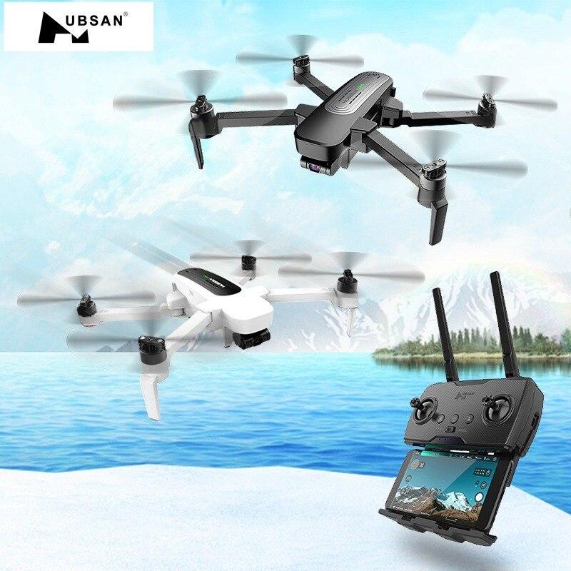 Original hubsan h117s zino gps 5.8g 1 km braço dobrável fpv com 4 k uhd câmera 3 eixos cardan rc zangão quadcopter rtf alta velocidade