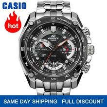 Часы Casio Edifice часы мужские лучший бренд класса люкс кварцевые часы водонепроницаемые световой хронограф мужские часы F1 гоночный элемент спо...