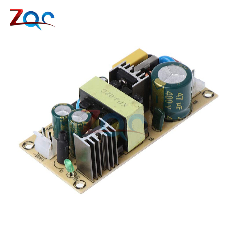 AC-DC Inverter Converter <font><b>Power</b></font> Switching Module AC 220V to DC <font><b>12V</b></font> 3A/24V <font><b>1.5A</b></font> 36W Voltage Regulated Step Down <font><b>Power</b></font> <font><b>Supply</b></font> Board image