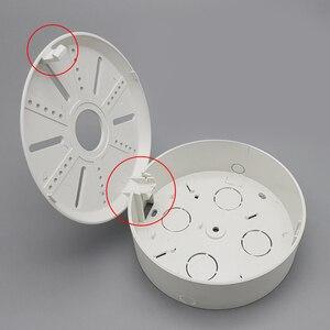 Image 3 - Câmera Dome IP câmera de cctv segurança suporte de parede plástico ABS 4PCS universal bracket aplicar Tibetano caixa de plástico