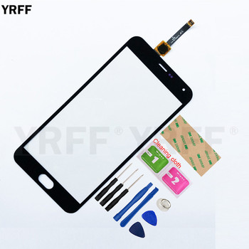 5.5'' Touch screen For Meizu M2 Note MZ-m2 note For Meilian Note 2 Touch Screen Digitizer Sensor Glass Panel Replacement аксессуар чехол meizu m2 note cojess ultra slim экокожа флотер silver