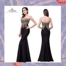 FATAPAESE Sweetheart Lace Appliques Mermaid Evening Dresses Floor Length Party Sexy Dresses Formal Gown robe de soiree Vestid