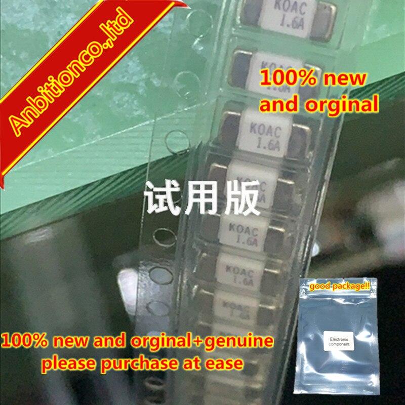 10pcs 100% New And Orginal SMD Fuse 1808 KOAC 1.6A 100V CCF1N1.6TTE In Stock