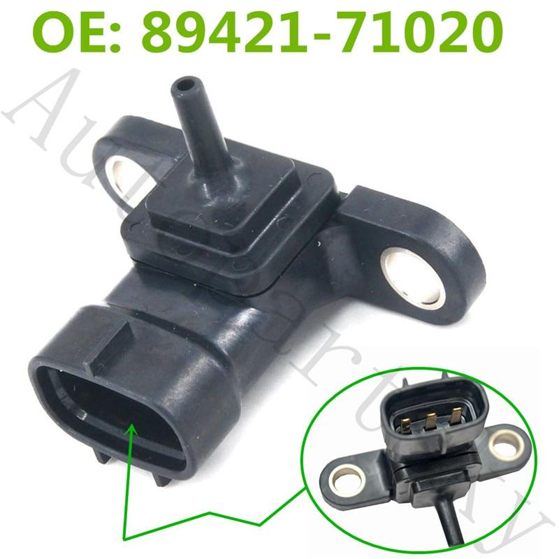 89421 71020 MAP Sensor for Toyota Hilux KUN26R 3.0L 1KD FTV KUN16R Prado Hiace 2KD FTV 2.5 89421 71010 8942171010 8942171020|Pressure Sensor| |  - title=