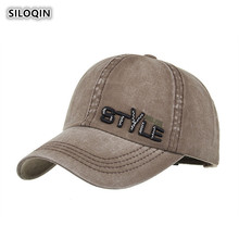 SILOQIN Woman ponytail baseball cap summer autumn Men New cotton Baseball caps Snapback adjustable letter embroidery Leisure hat