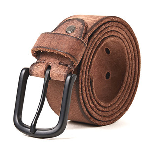 Image 3 - MEDYLA עור מקרית עיצוב חגורה של עבור גברים ג ינס מכנסי קזואל גברים של חגורת עור גברים של מתנות אורך של 130cm רחב 3.8cm