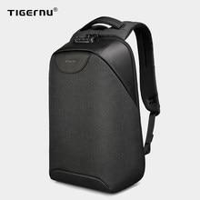 Pas de clé Anti-vol TSA serrure mode hommes sacs à dos 15.6 pouces USB charge sac à dos pour ordinateur portable 2020 école sac à dos pour hommes pour adolescent