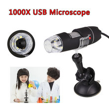 USB Microscope Suction Portable Handheld Electric 1000X Professional