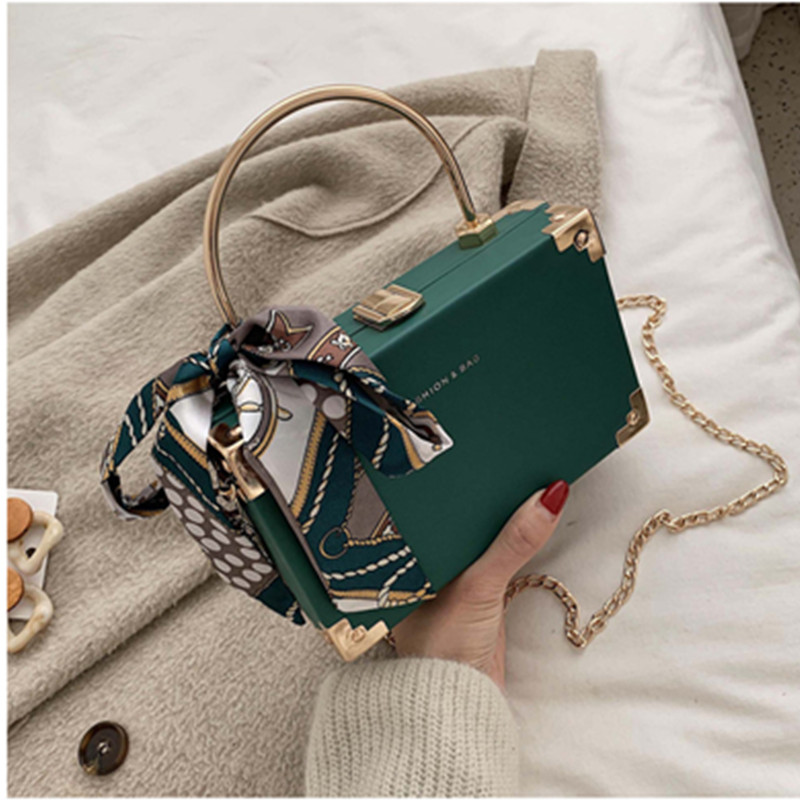 Solid Color PU Leather Crossbody Bags For Women 2020 Flap Summer Messenger Shoulder Bag Female Small Totes With Metal Handle