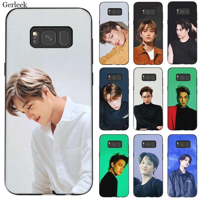 Mobile Phone Case TPU for Samsung Note 10 8 9 S6 S7 Edge S8 S9 S10 S10E Plus Cover EXO KAi Shell