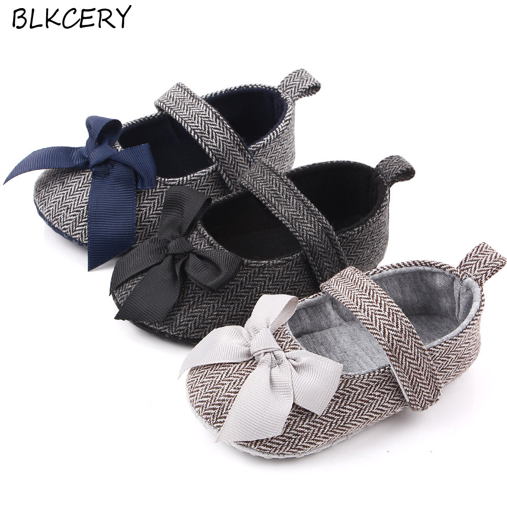 New Fashion Baby Girls Crib Shoes Newborn Footwear Toddler Bows Loafers slippers Infant Tenis for 1 Year Old Doll Shoes Gifts