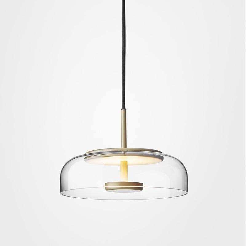 Industrial Lamp Lustre Pendente Glass Ball   Living Room  LED  Pendant Lights Luminaire Deco Maison