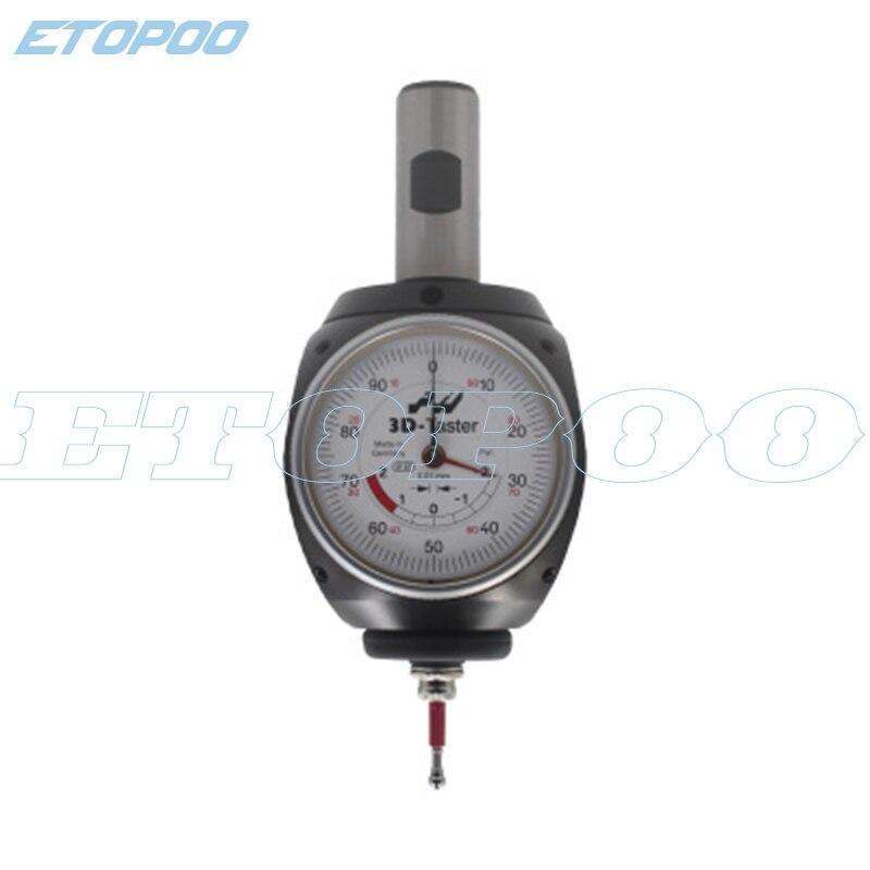 3D Edge Finder Universal Detector Tool Centering Indicator Centering Dial Test Indicator Center Finder Milling Tool