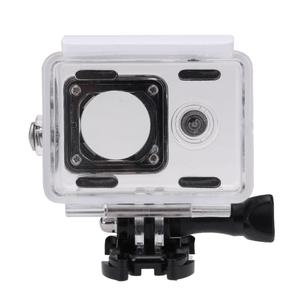 Image 2 - Hot 45M Underwater Diving Waterproof Case for Xiaomi Yi 1 Sports Camera Waterproof Protective Box for Action camera