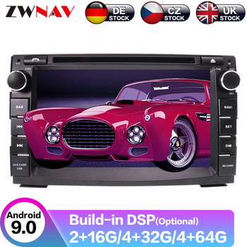 Android 9.1 GPS Navigation Car Radio DVD Player For KIA CEED 2009-2012 Car Radio Head Unit Free Camera Multimedia Player