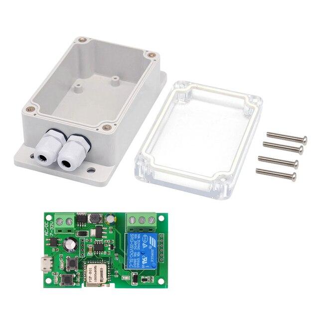 EWeLink Módulo de relé inalámbrico DC5V, 12V, 24V, 32V, Wifi, Control de aplicación remota para teléfono, módulo de automatización de domótica