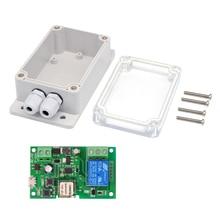EWeLink مفتاح Wifi DC5V 12V 24V 32V ، وحدة ترحيل لاسلكية ، تطبيق هاتف ، جهاز تحكم عن بعد ، مؤقت ، وحدات أتمتة المنزل الذكي