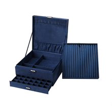 Jewelry-Box Gift-Box Velvet Space European Large Double-Layer