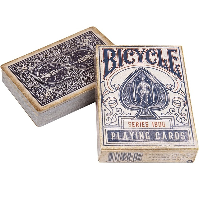 BICYCLE CLASSIC VINTAGE DECK of Playing Cards Poker Game Retro Old Look Magic