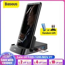 Baseus USB C HUB Dex Station to USB 3.0 HDMI USB HUB for Samsung S20 Note 20 Huawei P40 Mate 30 Docking Station USB Type C HUB