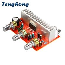 Tenghong TDA7377 DC12V amplificatore di potenza scheda Audio amplificatore 40Wx2 amplificatore Stereo Home Sound Theater DIY