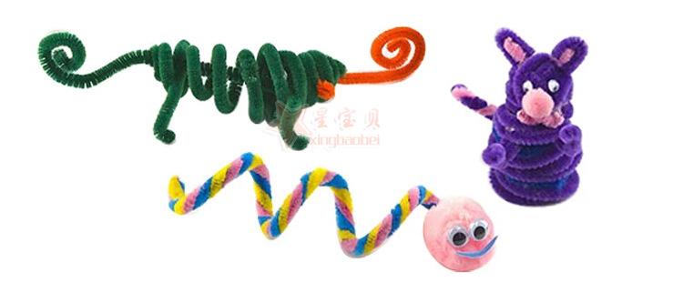Flexible Have Great Hair Root Article Material Children Shilly DIY Color Art And Craft Lesson Shilly Flower Self-10 Yuan