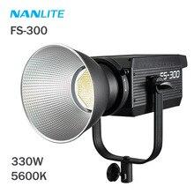 Nanlite – lampe LED Stuido FS 300 W 330 K, lumière douce et continue, pour Studio de photographie et enregistrement vidéo