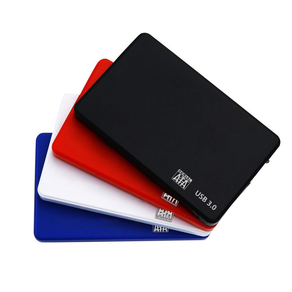 HDD Case 2.5 <font><b>SATA</b></font> to USB 3.0/2.0 Hard Drive Enclosure for SSD Disk HDD <font><b>Box</b></font> Type C Case Support UASP HD External Hard Disk image