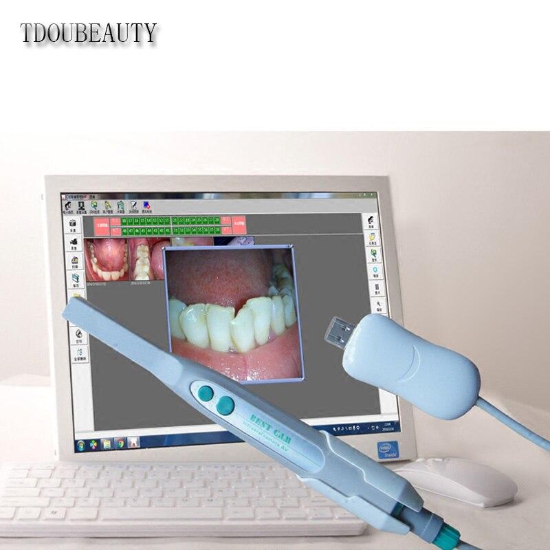 tdoubeauty 4 m dental intra camera digital sistema de imagem oral usb 4 mega pixels frete