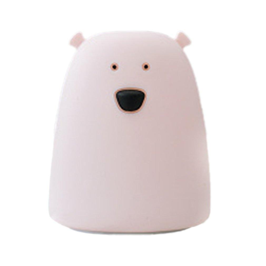 LED Battery Night Light Home Decoration Lamp Creative Atmosphere Lamp Fashion Professional Bear Beauty