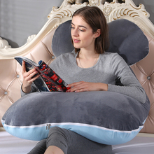 U-shaped Pregnancy Pillows Comfortable Maternity Belt Body Pregnancy Pillow Women Pregnant Side Sleepers Cushion for Bed