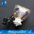 Оригинальный VT80LP LV-LP27 проектор лампа/лампа для NEC VT48 VT48 + VT48G VT49 VT49 + VT49G VT57 VT57G VT58BE VT58 VT59 для Canon