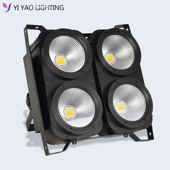 4x100W 4 Eyes LED Blinder Light COB Warm White LED High Power Professional Stage Lighting For Party Dance Floor